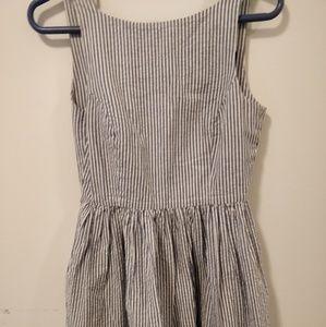 American apparel striped dress